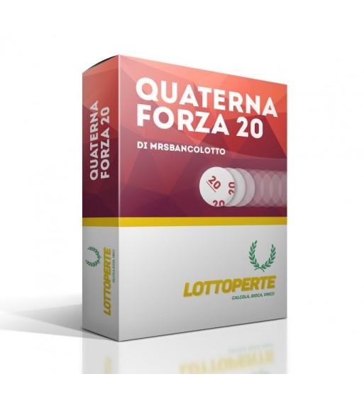 Quaterna Forza 20